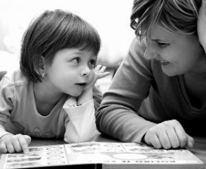 parla a tuo figlio positivo