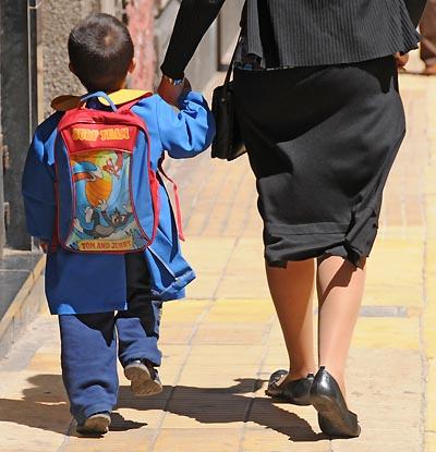 ritorno da scuola