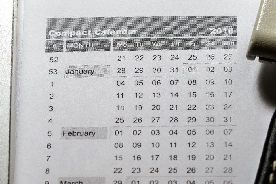Gestione del Tempo – Calendario Compatto 2018 – To Be Formazione