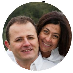 Floriana Bertucci e Davide Bombarda
